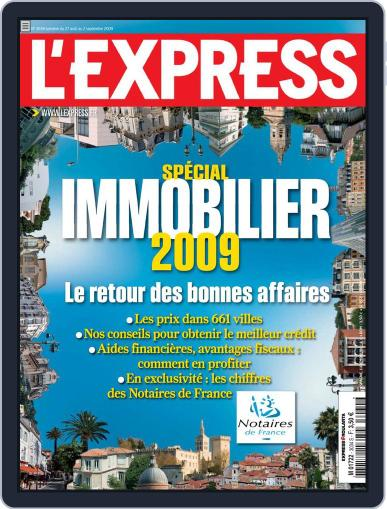 L'express (Digital) August 26th, 2009 Issue Cover