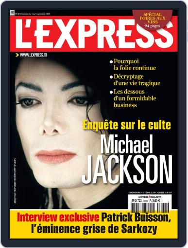 L'express September 9th, 2009 Digital Back Issue Cover