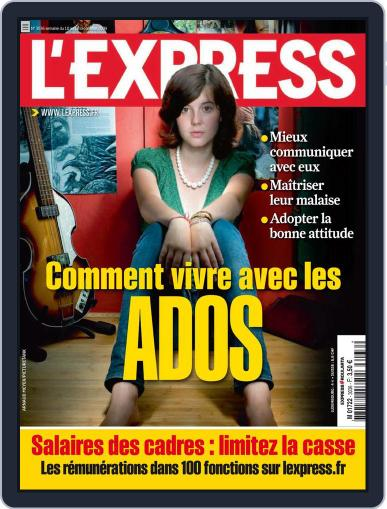 L'express (Digital) September 14th, 2009 Issue Cover