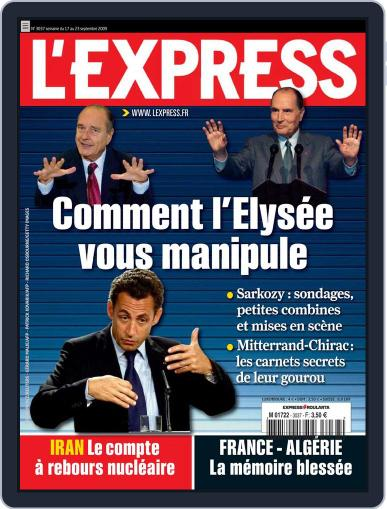 L'express September 18th, 2009 Digital Back Issue Cover