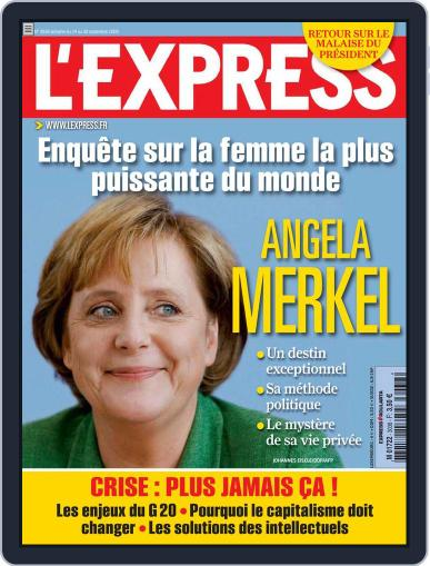 L'express (Digital) September 23rd, 2009 Issue Cover