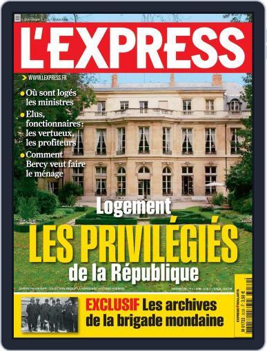 L'express (Digital) October 1st, 2009 Issue Cover