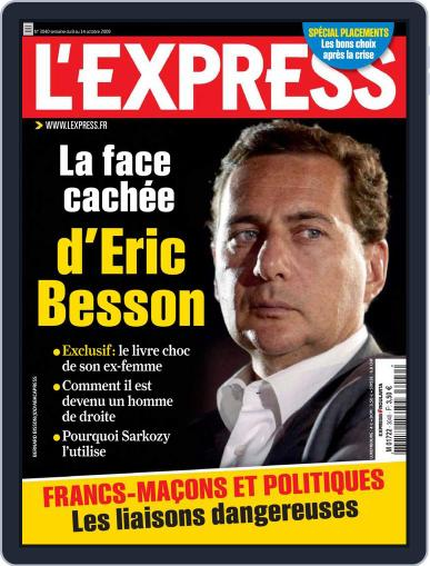 L'express (Digital) October 7th, 2009 Issue Cover