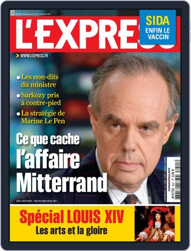 L'express (Digital) October 14th, 2009 Issue Cover