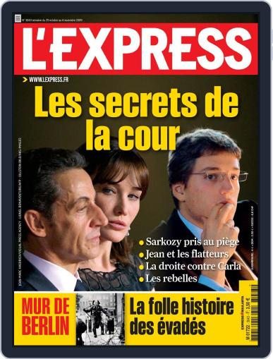 L'express (Digital) October 28th, 2009 Issue Cover