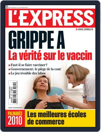 L'express (Digital) November 13th, 2009 Issue Cover