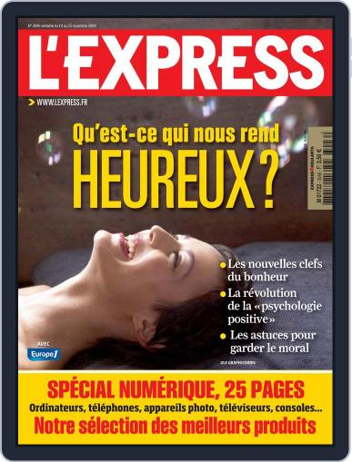 L'express November 18th, 2009 Digital Back Issue Cover