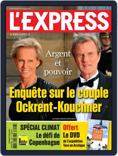 L'express (Digital) December 2nd, 2009 Issue Cover