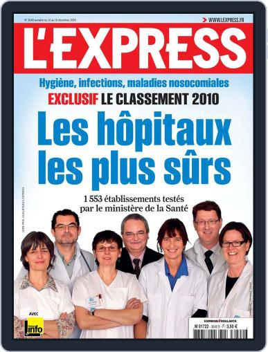 L'express December 9th, 2009 Digital Back Issue Cover