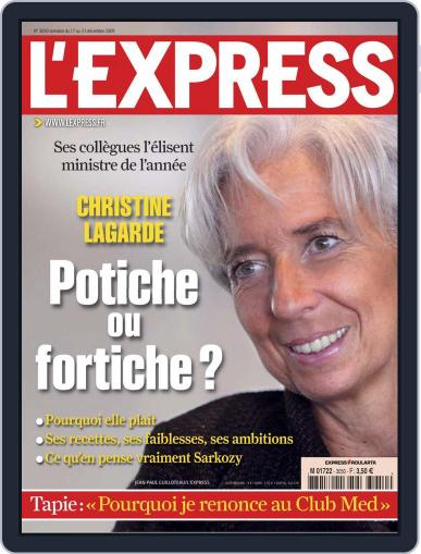 L'express December 16th, 2009 Digital Back Issue Cover