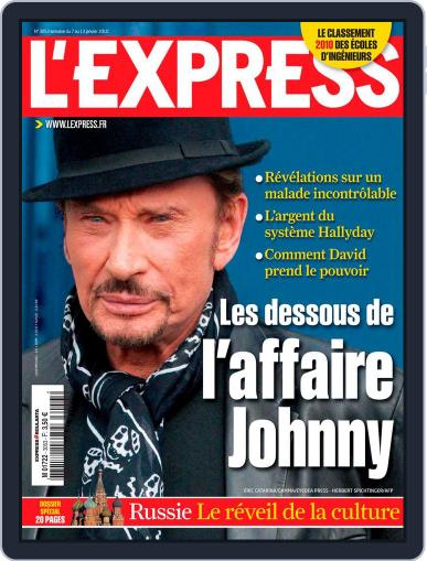 L'express (Digital) January 6th, 2010 Issue Cover