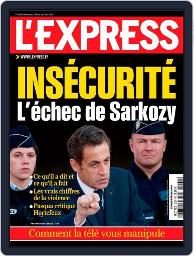 L'express (Digital) February 25th, 2010 Issue Cover