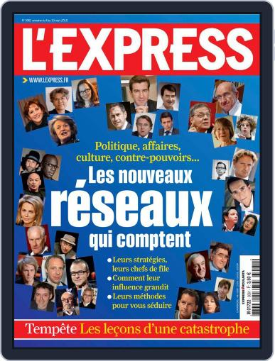 L'express (Digital) March 3rd, 2010 Issue Cover
