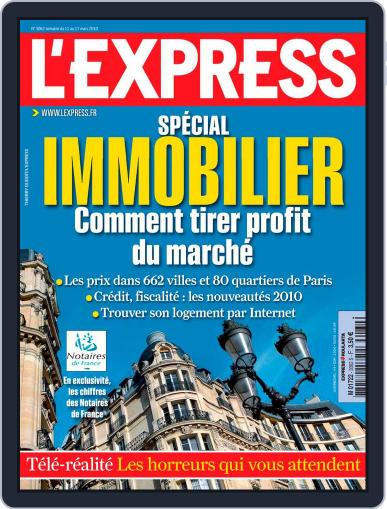 L'express (Digital) March 10th, 2010 Issue Cover