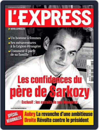 L'express (Digital) March 24th, 2010 Issue Cover