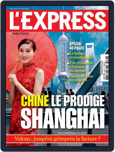 L'express (Digital) April 21st, 2010 Issue Cover