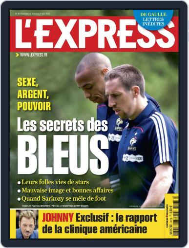 L'express (Digital) May 25th, 2010 Issue Cover