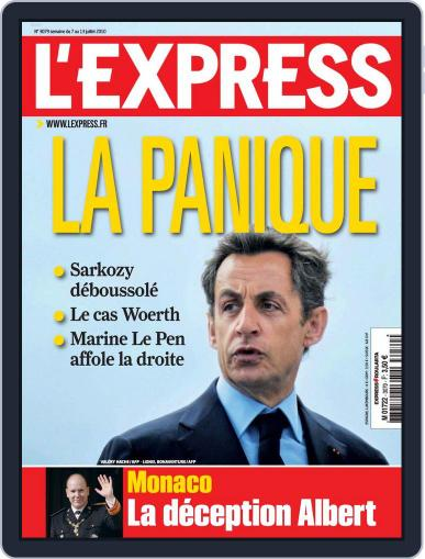 L'express (Digital) July 6th, 2010 Issue Cover
