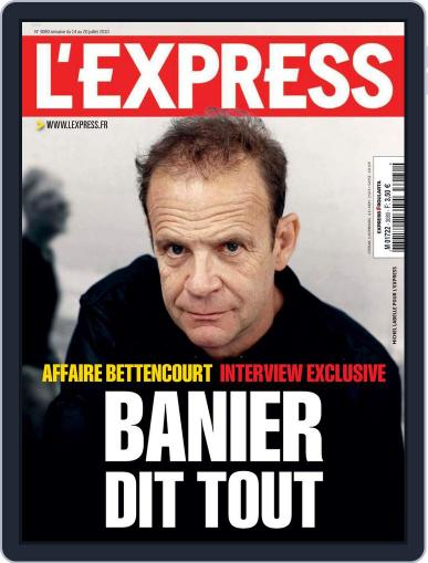 L'express (Digital) July 13th, 2010 Issue Cover