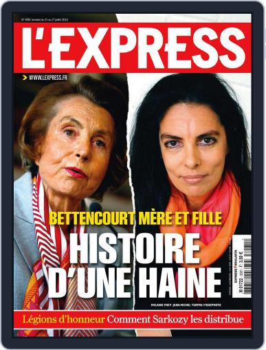 L'express July 20th, 2010 Digital Back Issue Cover