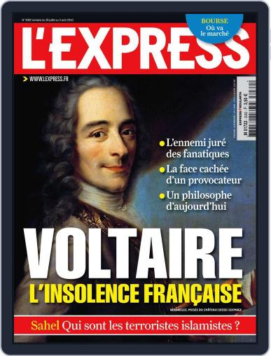 L'express July 27th, 2010 Digital Back Issue Cover