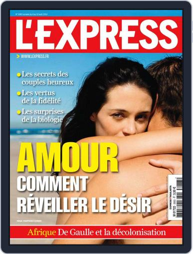 L'express (Digital) August 3rd, 2010 Issue Cover