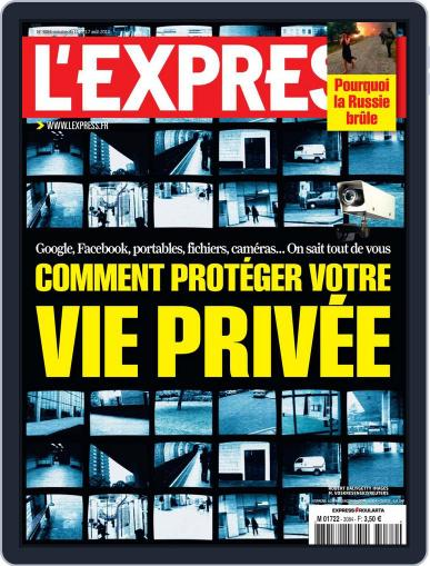 L'express (Digital) August 10th, 2010 Issue Cover