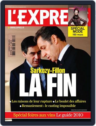 L'express September 7th, 2010 Digital Back Issue Cover