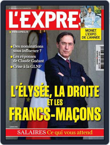 L'express (Digital) September 14th, 2010 Issue Cover