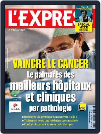 L'express (Digital) September 21st, 2010 Issue Cover