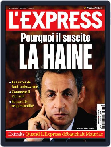 L'express (Digital) September 28th, 2010 Issue Cover