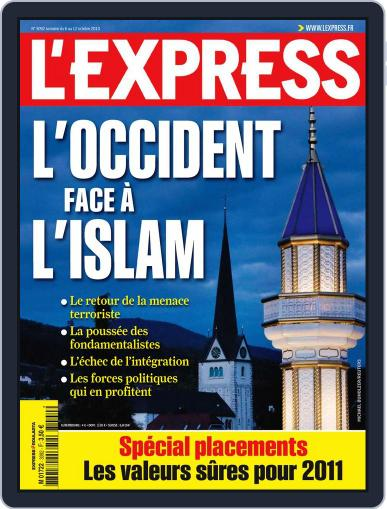 L'express (Digital) October 5th, 2010 Issue Cover