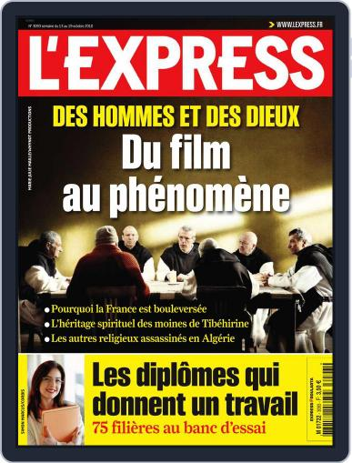 L'express (Digital) October 12th, 2010 Issue Cover