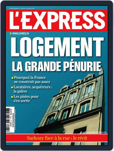 L'express (Digital) October 26th, 2010 Issue Cover