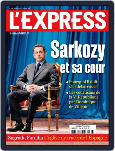 L'express (Digital) November 2nd, 2010 Issue Cover