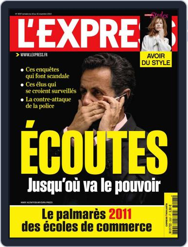 L'express (Digital) November 9th, 2010 Issue Cover