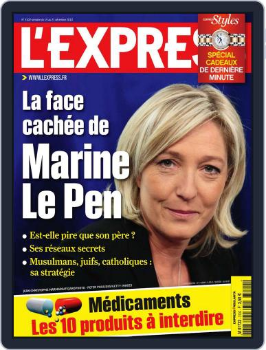 L'express December 14th, 2010 Digital Back Issue Cover