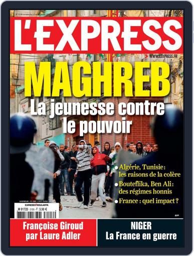 L'express January 12th, 2011 Digital Back Issue Cover