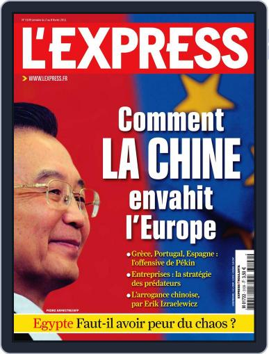 L'express (Digital) February 1st, 2011 Issue Cover