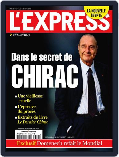 L'express (Digital) February 15th, 2011 Issue Cover