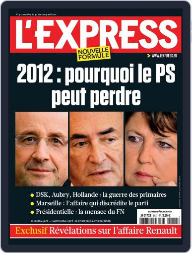 L'express March 29th, 2011 Digital Back Issue Cover