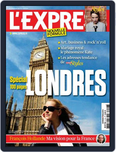 L'express (Digital) April 5th, 2011 Issue Cover