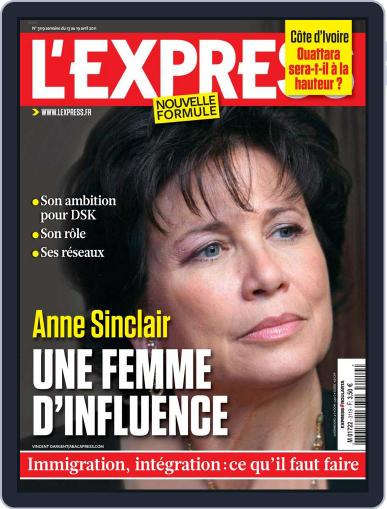 L'express April 12th, 2011 Digital Back Issue Cover