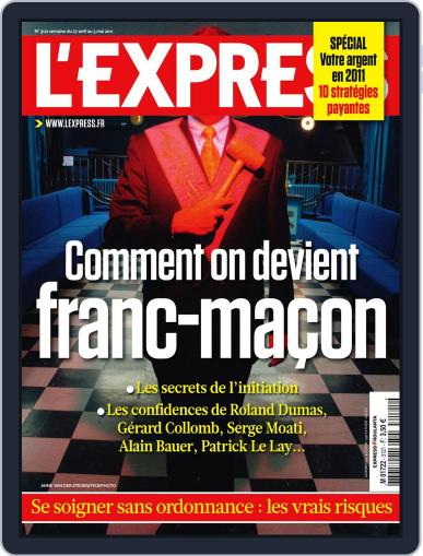 L'express April 26th, 2011 Digital Back Issue Cover