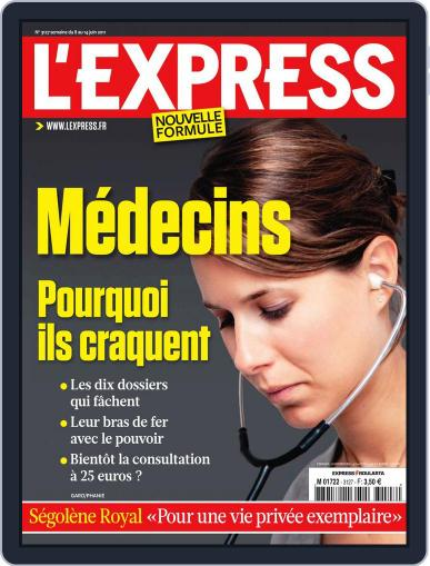 L'express (Digital) June 7th, 2011 Issue Cover