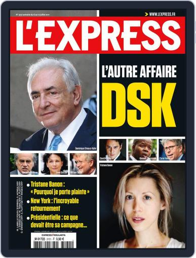 L'express (Digital) July 5th, 2011 Issue Cover