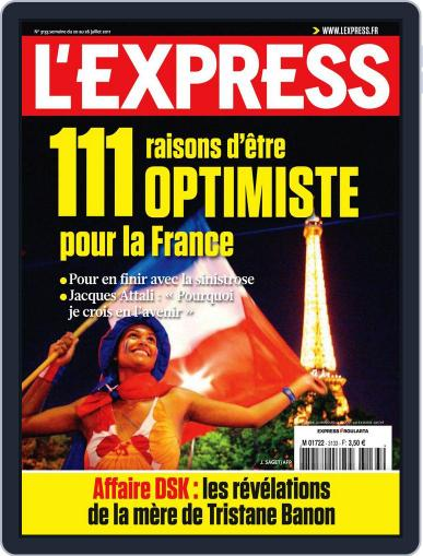 L'express (Digital) July 19th, 2011 Issue Cover