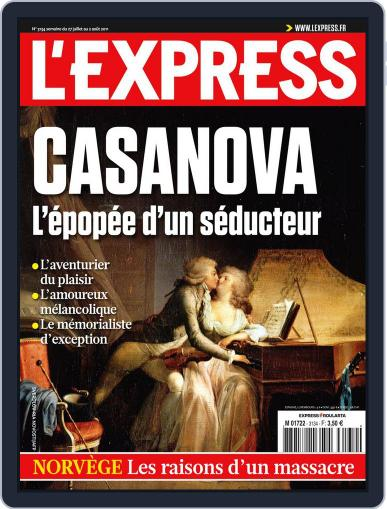 L'express July 26th, 2011 Digital Back Issue Cover