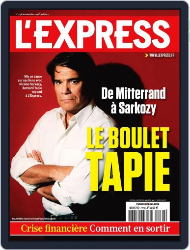 L'express August 9th, 2011 Digital Back Issue Cover