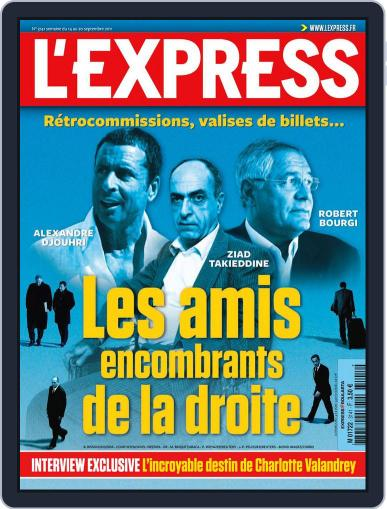L'express (Digital) September 13th, 2011 Issue Cover